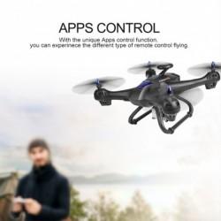 1x Globális RC Drón 6-tengelyes X183 GPS 5.8G 1080P WiFi FPV HD kamera távirányítóval Quadcopter