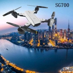 1x Globális Quadcopter RC Drón SG700 HD kamera Wifi összecsukható FPV optikai (200 W-os kamera)