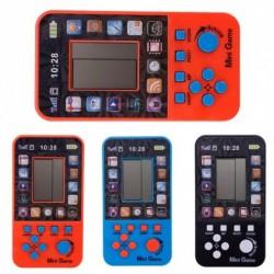 1x Hordozható gyerek játék LCD konzol Tetris elektronikus játékok