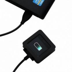 Töltő dokkoló a FitBit Blaze Watch csere USB töltő bölcső kábeléhez
