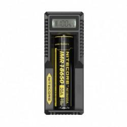 NITECORE intelligens akkumulátor töltő UM10 Digicharger LCD kijelző USB tápellátás a Li-ion