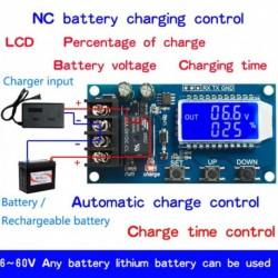 XY-L10A NC töltőmodul akkumulátor töltő vezérlőmodul 10A DC 6-60 V vezérlőterhelés-túlterhelés