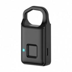 Intelligens ujjlenyomat ajtózár Biztonságos USB töltés Vízálló Anti Lopásgátló Otthoni
