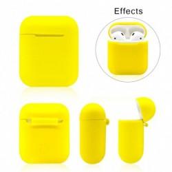 1x Szilicone AirPods fülhallgató védő tok doboz fedél vezeték nélküli Bluetooth fülhallgatóhoz