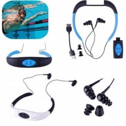 1x 8GB vízálló MP3 lejátszó Sport fejhallgató