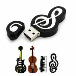 1db Hangszer Modell Pendrive 16GB  USB flash meghajtó Hegedűs zongora gitár
