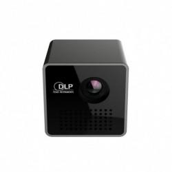 P1   WIFI Mini projektor, zsebméret intelligens mikroprojektor Miracast DLNA Airplay,