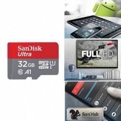 SanDisk ÚJ Ultra A1 16G Micro SD SDHC kártya 98MB / s UHS-I C10