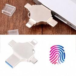 Négy az egyben mobil telefon ujjlenyomat feloldós U disk lemez az Android Apple c