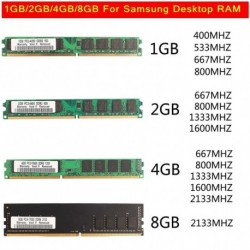 1 GB-os DDR1-400MHz memória PC1-3200 184pin Nem ECC DIMM Ram memória