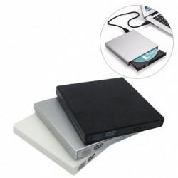 Vékony külső USB 2.0 DVD meghajtó CD RW író lejátszó PC laptophoz