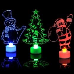 1x Ünnepi Karácsonyi téli dekorációs kellék