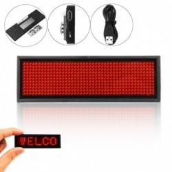 1x Mini LED digitális programozható újratölthető üzenő üzenet tábla