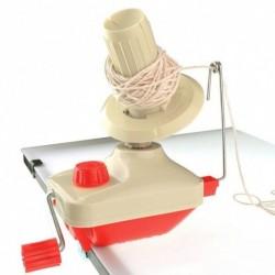 1x Csévélő tekercses fonalhúzó asztali  kézi működtetésű kézi gyapjúfúró tartó