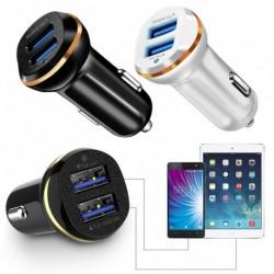 1 db LED Dual USB 3.1A 2 Port adapter Autó töltő Gyors szivargyujtógyújtó Töltés a telefonhoz