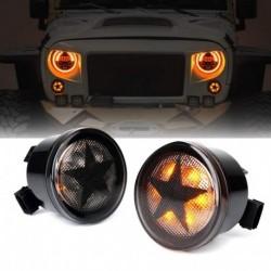 2db autó 12V-os LED-es irányjelző, , Jeep Wrangler JK 2007-2017