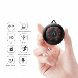 1x Mini HD 1080P WIFI vezeték nélküli IP kameraéjjellátó biztonsági kamera