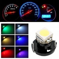 10db T4.7 Autó  5050 1 SMD LED automata műszerfal lámpa fürt izzó