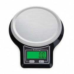1x 10 kg / 1 g digitális élelmiszer konyhai mérleg mérő aszköz