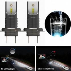 2db H7 110W 6000k LED Autó fényszóró átalakító  Canbus izzó 30000LM gerendakészlet