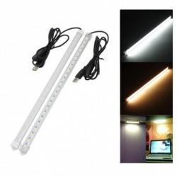 1x USB 35CM 7W 24 LED SMD 5630 fénycső lámpa DC 5V