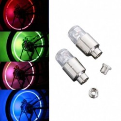 2db LED gumiabroncs szelep szár sapka Neon fény Auto kiegészítő kerékpár Auto