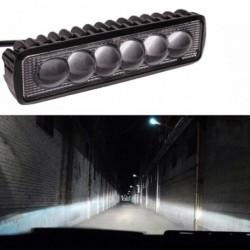 4D 18W LED fényes  meghajtó köd Offroad SUV autó hajó lámpa 800LM