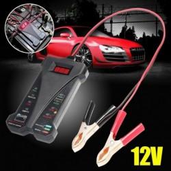 12V-os Autó digitális akkumulátor tesztelő elemző LED  diagnosztikai eszköz