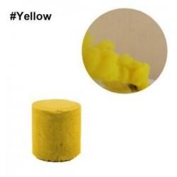 Sárga. Színes füst torta bomba kerek hatás megjelenítése mágikus fotózás színpadi támogatás játék ajándék