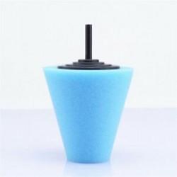 1PC kék (közepes). 3Pc polírozó habszivacs polírozó kúp alakú puffasztó párnák autós kerékagyhoz