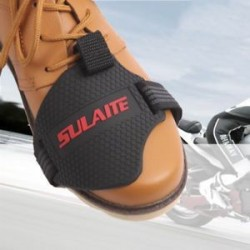 * 2 15x10cm. 1db Motorkerékpár Shift Pad lovaglás gumi váltó fedél felszerelés cipő csizma védő