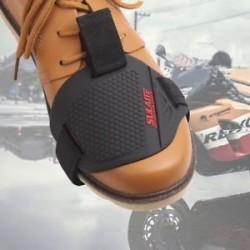Motorkerékpár váltó párnázás gumi váltó fedél felszerelés cipő csizma védő Új