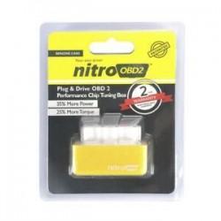 Sárga. Drive Nitro obd2 ECO Chip üzemanyag-megtakarító hangolókészlet dízel / benzin autóhoz Új
