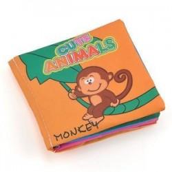állatok. Baby Kids Child Intelligence fejlesztése Cognize Soft Cloth Book oktatási játék