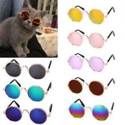 Kisállat kutya szemüveg kisállat kis kutya szemhéjfesték kiskutya napszemüveg fotók props