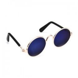 Kék. Kisállat kutya szemüveg kisállat kis kutya szemhéjfesték kiskutya napszemüveg fotók props
