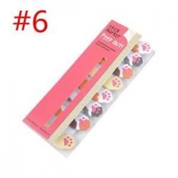 * 6. Cartoon Animal Panda macska Memo Pad matricák Öntapadó jegyzetek iskolai helyhez kötött eszköz