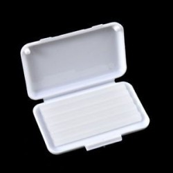 Fehér (eredeti íz). 1 csomag gyümölcs illat fogászati fogszabályozás Ortho viasz a fogszabályozó gumi irritáció