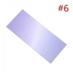 * 6. 40db színes szivárványos öntapadó jegyzetek rajzfilm írása diák tanulmány papír jegyzetfüzet