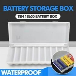 D-5db műanyag doboz. D-5db műanyag doboz. Hordozható műanyag elemtartó fedél tartó tároló doboz akkumulátorokhoz JP