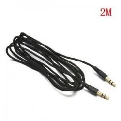 3,5 mm-es AUX kiegészítő tartozék Kábel férfi és férfi sztereó hangkábel autós telefonhoz MP3