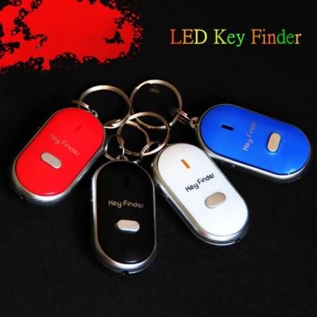 1db Színes LED-kulcskereső, Találd meg az elveszett kulcsokat Villogó riasztó  Sípjel hangjelzés