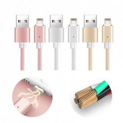Mágneses adapter  USB töltő Sync Data kábel iPhone 6 6Plus-hoz1db