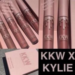 Kylie Jenner 4 db ajak Kit Martin Edition Matt folyékony rúzs KIM KIKI KIMMIE