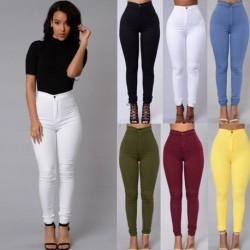 1x Több színű Női alkalmi Vintage Denim Jeans nadrág