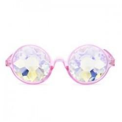 Kaleidoszkóp szemüveg Unisex szemüvegek Crystal Lens Party Rave EDM napszemüveg Hot
