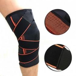 1db hordozható sport rugalmas térdvédő támasz tartó