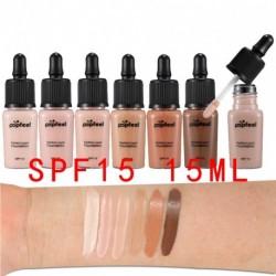 POPFEEL SPF 15 15ML női tartós vízálló hidratáló korrektor alapozó smink