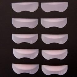 5 pár különböző méretű szempilla sablon