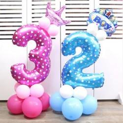 """32"""" szám fólia léggömbö Esküvő születésnapi party dekoráció léggömb lufi"""